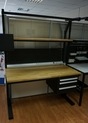 Рабочий стол ADVANCED  черного цвета