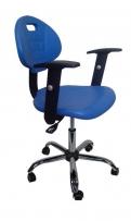 Лабораторный стул  DOKA-PL-230, литой полиуретан