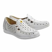 Антистатические женские туфли с перфорацией 8207Л